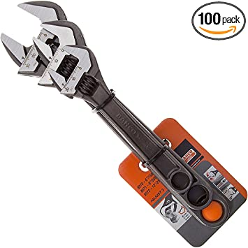 Bahco 8070 Black Adjustable Wrench 150Mm 6In