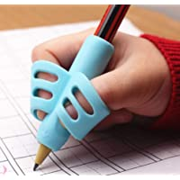 3 pcs Adorable Ring Pencil Grips Eco-friendly Soft Silicone Pencil Holders Writing Posture Correction Finger Grip for…