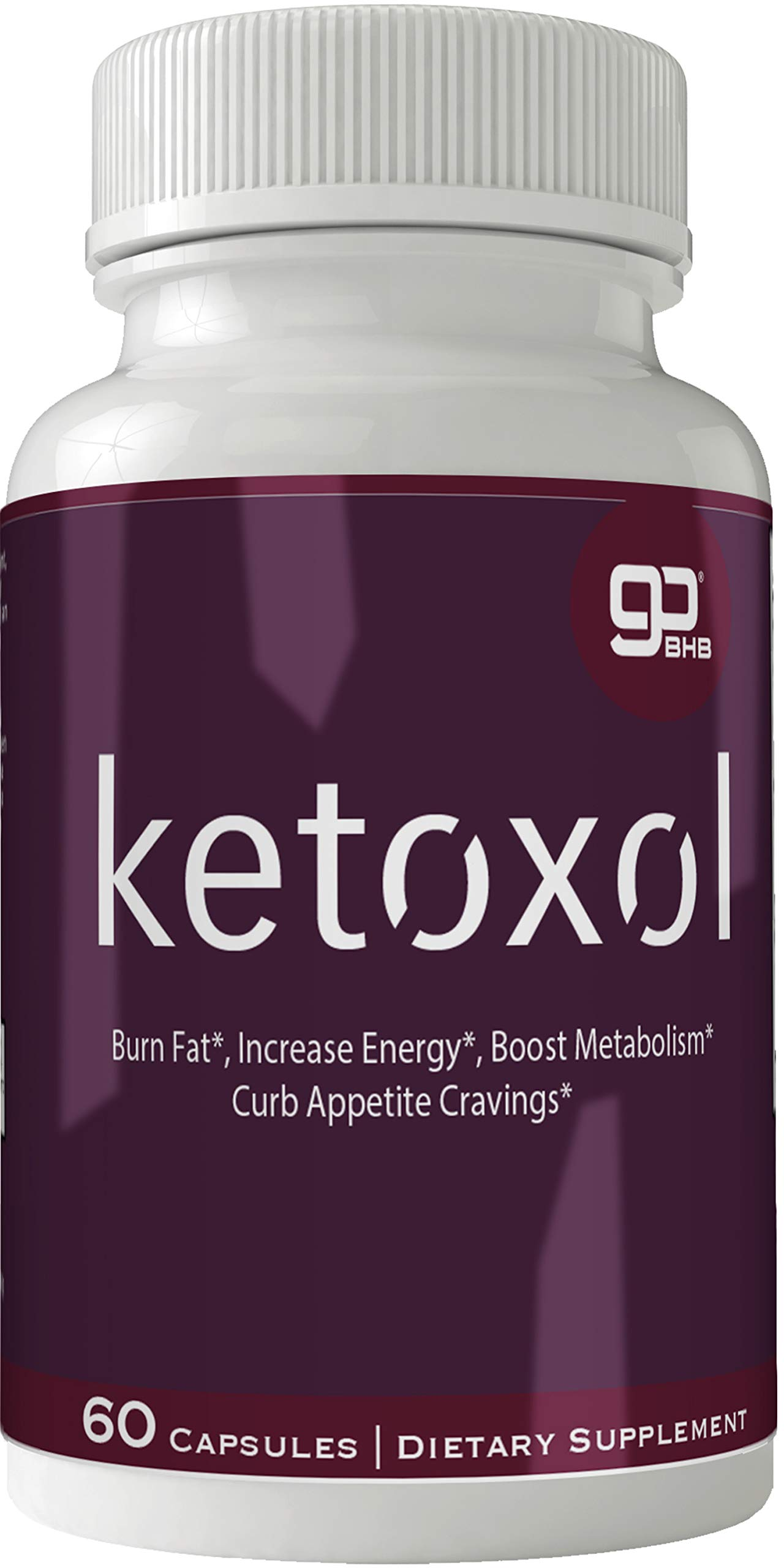 Ketoxol Natural Ketogenic Weight Loss Pills, BHB Burn Fat Supplement, 800 mg Formula with New True Slim GO BHB Salts Formula, Advanced Appetite Suppressant Capsules ...