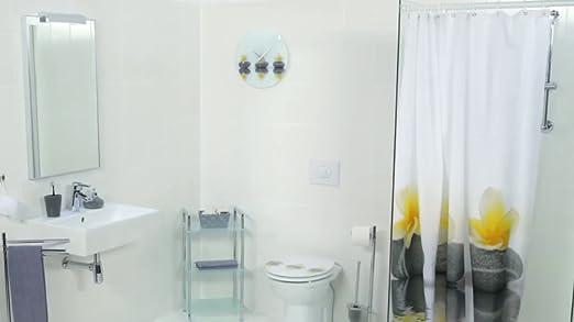 Bac a douche design Faro2 en acrylique en blanc 90x120x4cm avec sortie d evacuation et bouchon AL02 inclus