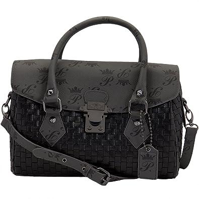 Amazon.com: Paris Hilton bolsos – Galleria negro bolso de ...