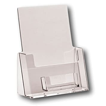 Eposgear 1 pack a5 freestanding counter acrylic leaflet flyer eposgear 1 pack a5 freestanding counter acrylic leaflet flyer brochure menu display dispenser holders reheart Images