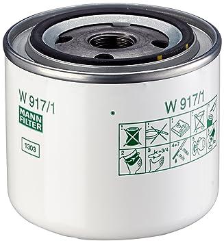 Ölfilter MANN-FILTER W 917//1
