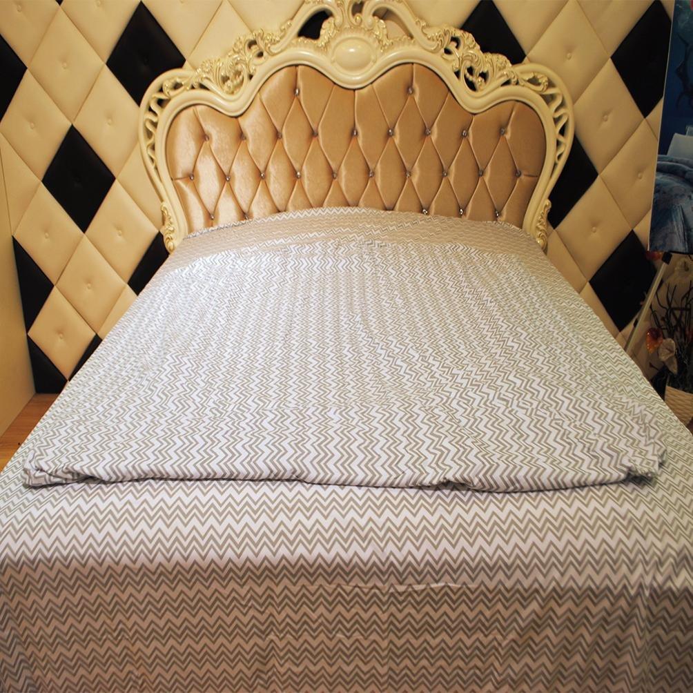 Elogoog Stripes Bed Sheets Set Hotel Luxury Platinum Collection 1800 Series Bedding Sheet Set Ultra Soft Deep Pockets Wrinkle & Fade Resistant Hypoallergenic-4 Pcs (Khaki, Queen)