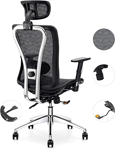Cedric Office Chair,Breathable Mesh Computer Chair
