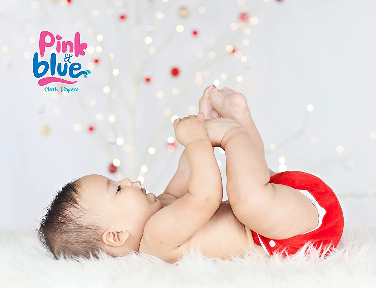 Swimwear Pink /& Blue Reusable Swimming Nappy in Solid Colours for Boys and Girls Environmentally Friendly Size Newborn//Jungtier to Puppies 3-15 kg Gentle on Coats