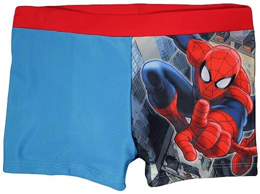 31bd235890 Marvel Spiderman Boys Swim Short: Amazon.co.uk: Clothing