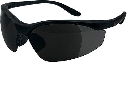 Black Frame //Clear Elvex RX-500C 2.0 Diopter Full Lens Magnifier Safety Glasses