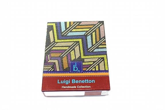 LUIGI BENETTON - Cartera para hombre azul turquesa Unica ...