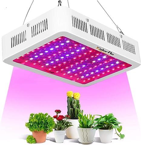 1000W LED Grow Light Panel Full Spectrum Hydroponic Indoor Veg Plant Flower Lamp