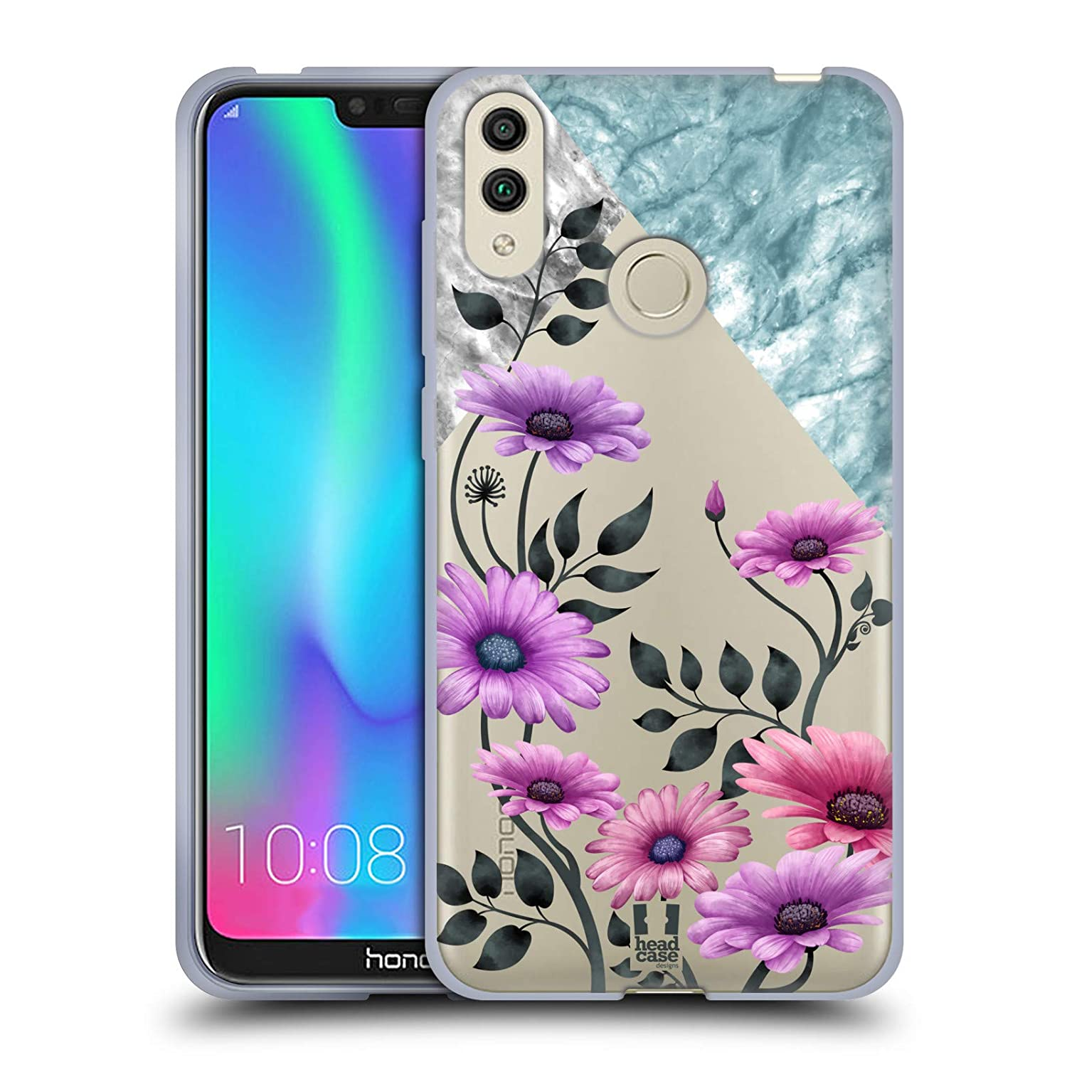 Head Case Designs Daisies Marble /& Florals Soft Gel Case Compatible for Huawei P10