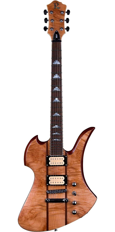 B.C. ricos cuello to Kill A Través De con arce Burl Top Guitarra eléctrica: Amazon.es: Instrumentos musicales