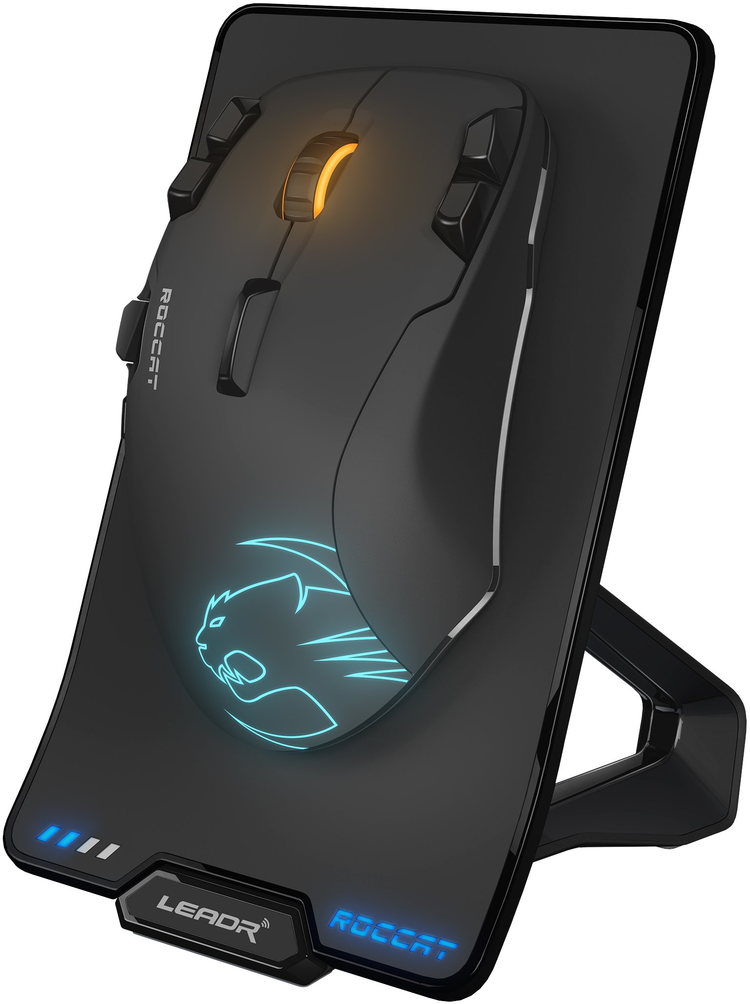 Mouse Gamer : Roccat Roc-11-852 Leadr Sin Cable/con Cable Op