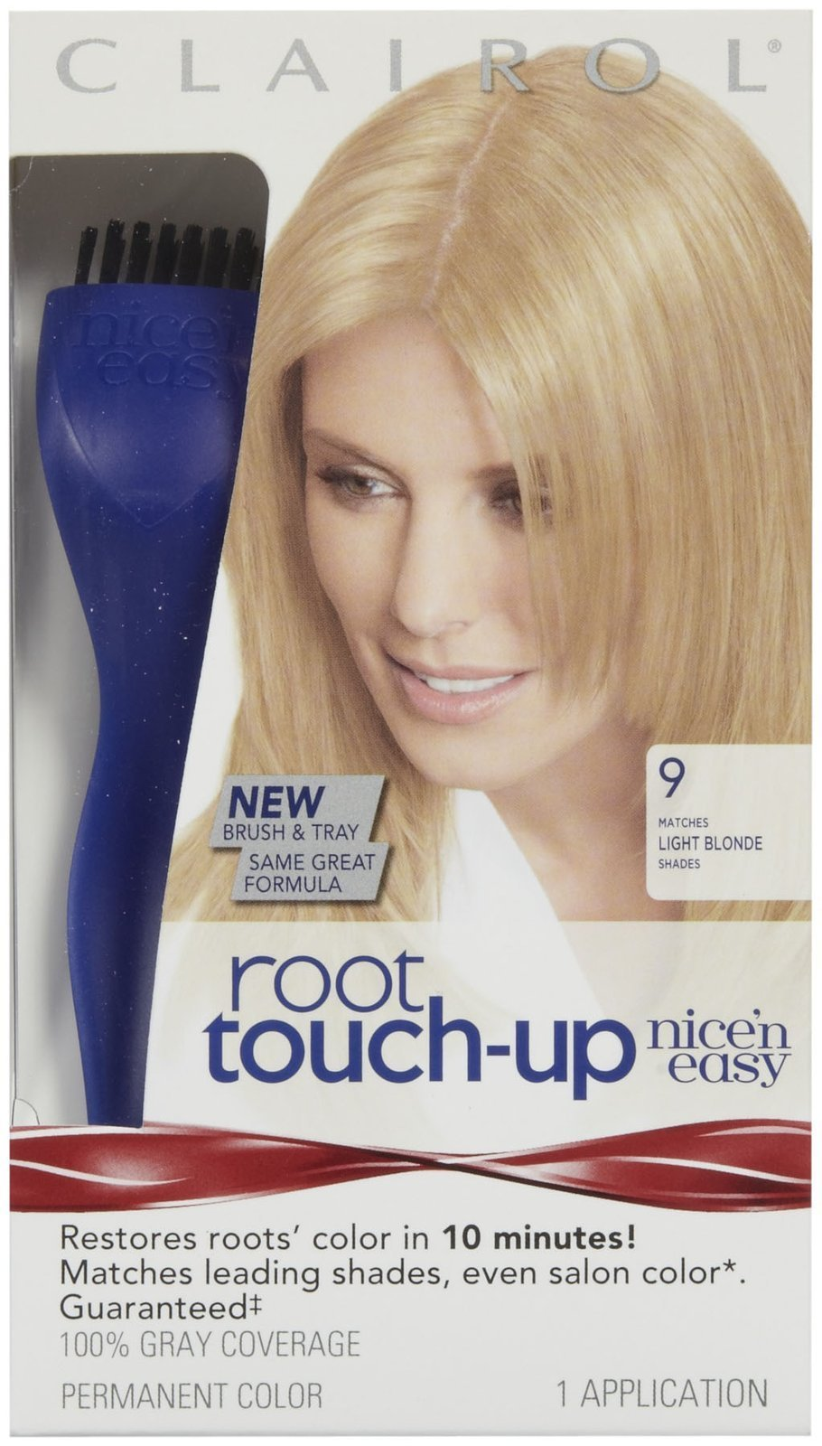 Clairol Nice n Easy Touch, Up, 009, Light Blonde