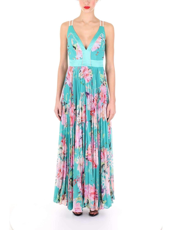 GUESS BY MARCIANO 92G760 9014Z Petal Vestido Mujer Verde 40 ...
