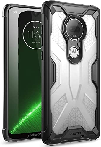 Amazon.com: Moto G7 Case, Poetic Premium Hybrid Protective Clear ...