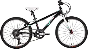 "BYK E-450 22"" Kids Mountain Bike Matt Black/White"