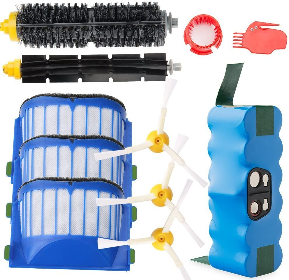 Kit de accesorios mas bateria para iRobot Roomba 600 Series