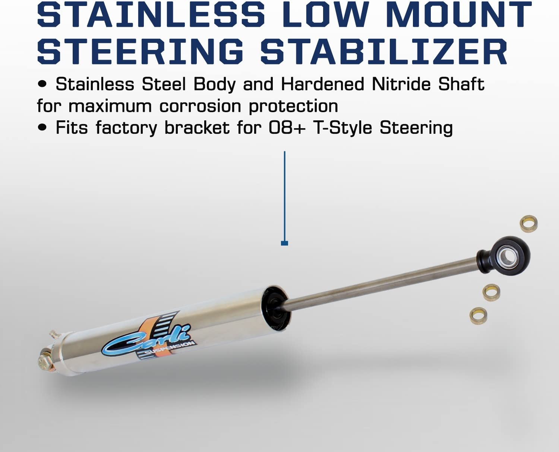 Carli Suspension DODGE 2014 STAINLESS LOW MOUNT STABILIZER CS-DLMSS-14
