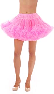 product image for Malco Modes Alyse Luxury Chiffon Adult Petticoat Slip, Adjustable Waist