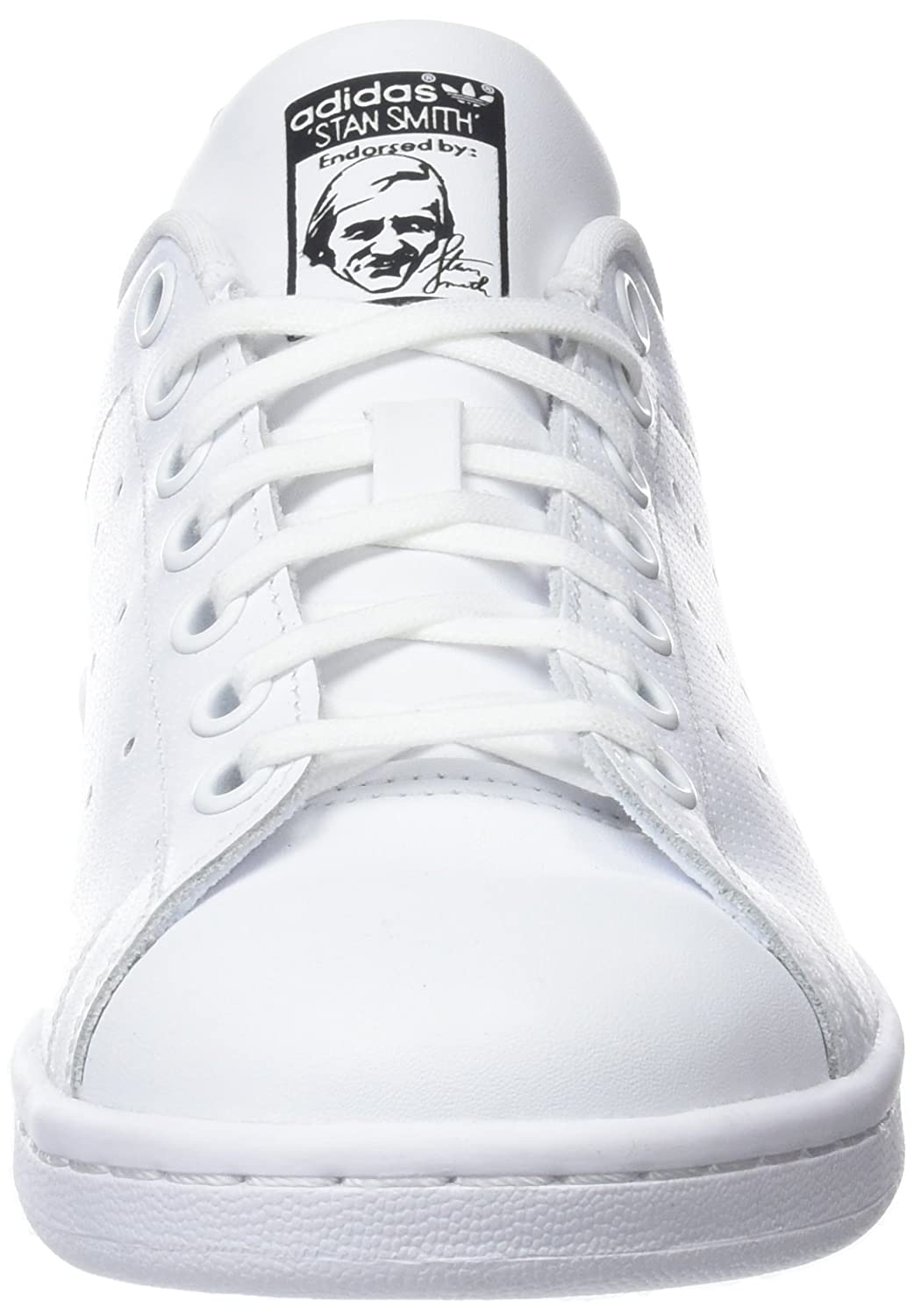 adidas – Stan Smith J, Sneaker Unisex 10156 – Adulto Db1206) Avorio (White/Black Db1206) b4e2052