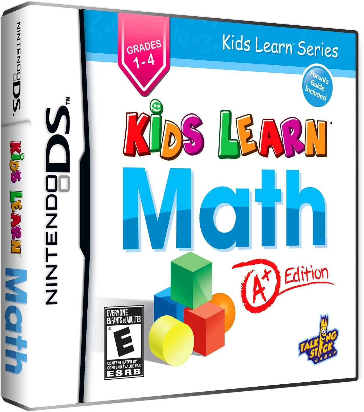 Amazon.com: Kids Learn Math: A+ Edition - Nintendo DS: American ...