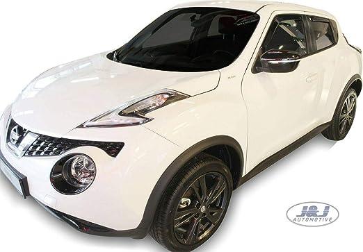 J J Automotive Windabweiser Regenabweiser Für Nissan Juke 5 Türer 2010 2018 4tlg Heko Dunkel Auto