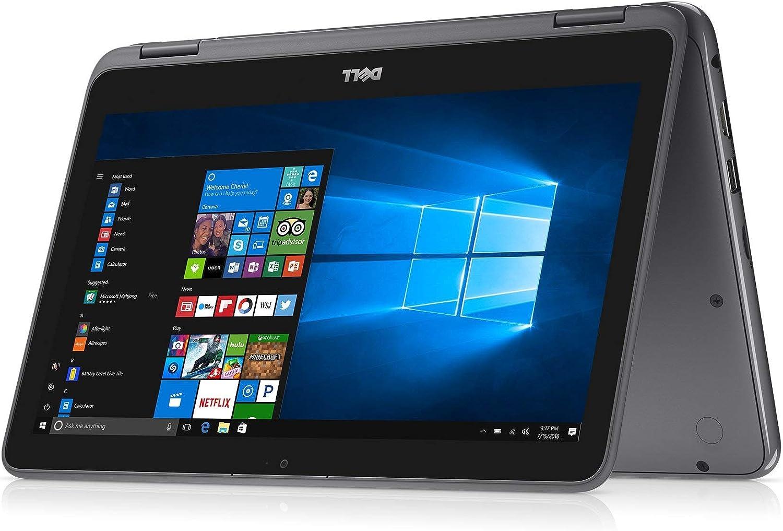 "2021 Flagship Dell Inspiron 11 3195 2 in 1 Convertible Laptop 11"" HD Touchscreen Display AMD Dual-Core A9-9420e 16GB RAM 128GB eMMC 256G SD Card HDMI WiFi Webcam Win 10 (Renewed)"