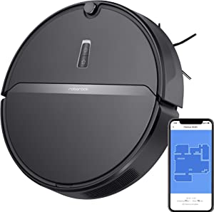 Roborock E4 Robot Vacuum Cleaner, Internal Route Plan with 2000Pa Strong Suction, 150min Runtime, Carpet Boost, APP Total Control, Ideal for Pets and Larger Home