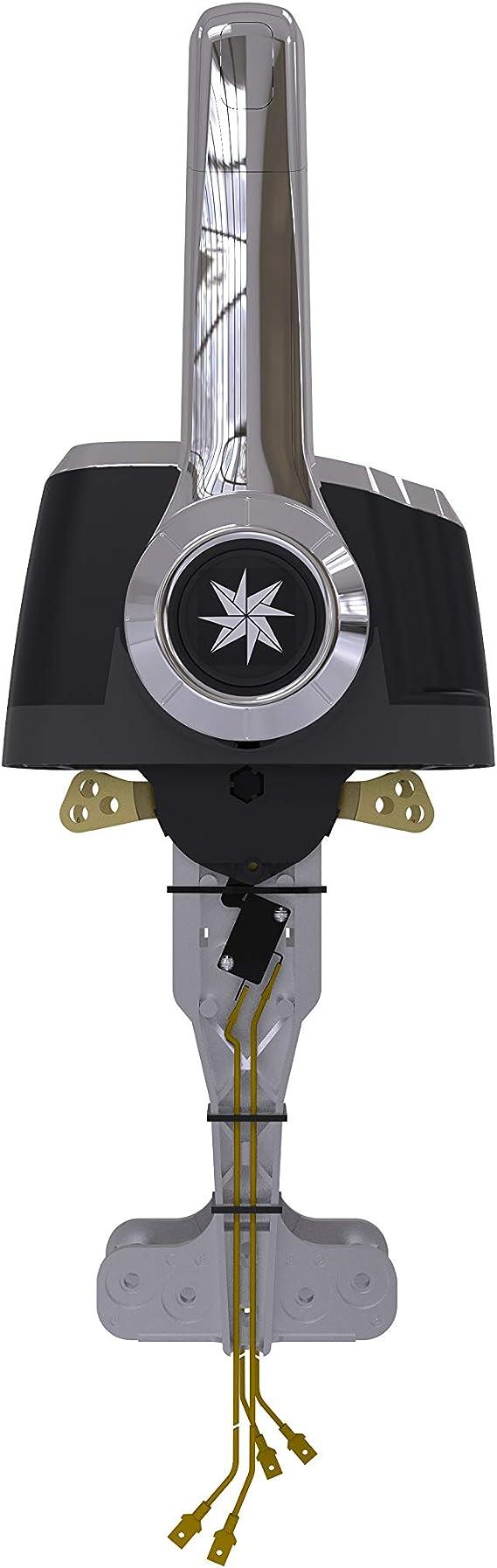 Dometic SeaStar Xtreme Control Chrome CHX8240P Dual Top Mount