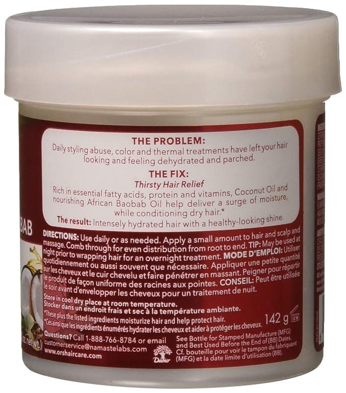 Organic Root Hair epair Intense Moisture Crema 140 g (piel de pelo y cabeza tratamientos): Amazon.es: Belleza