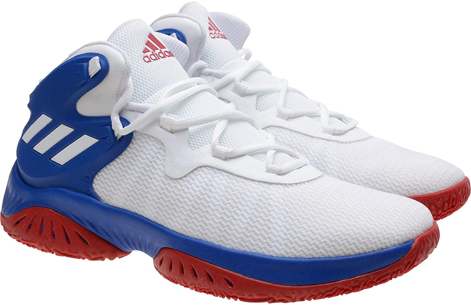 cb3f55e7acdb4 Kansas Jayhawks Team-Issued White Explosive Bounce Shoes from the ...