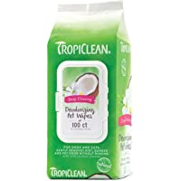 Tropiclean Deep Cleaning Wipes for Pets (100-Count)