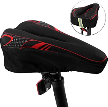 YingTai Bike Seat Covers Gel-Bicycle Saddle Cushion