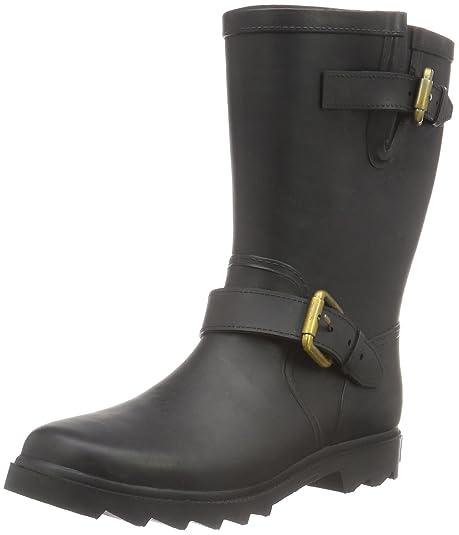 Marc OPolo Gummistiefel - botas con forro cálido de caña media y botines Mujer