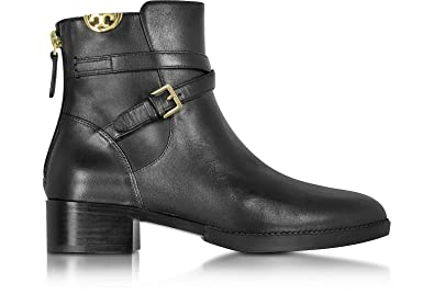 9f34d90bca3f Tory Burch Women s Black Sidney Leather Ankle Boots
