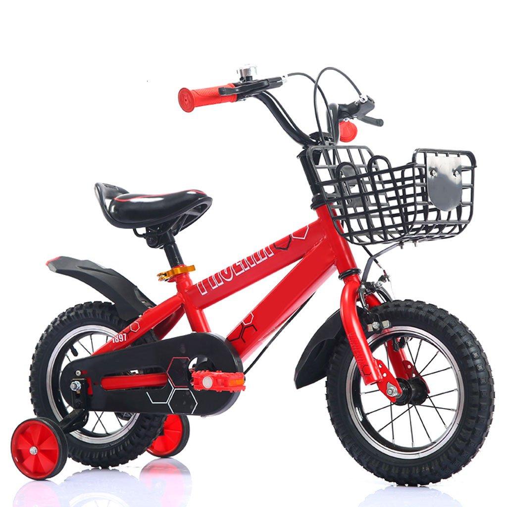XBNH Bicicleta para Niños 12/14/16/18 Pulgadas Niños Niñas Bicicleta De Montaña para Niños Al Aire Libre con Rueda De Entrenamiento (Tamaño: 14 Pulgadas)
