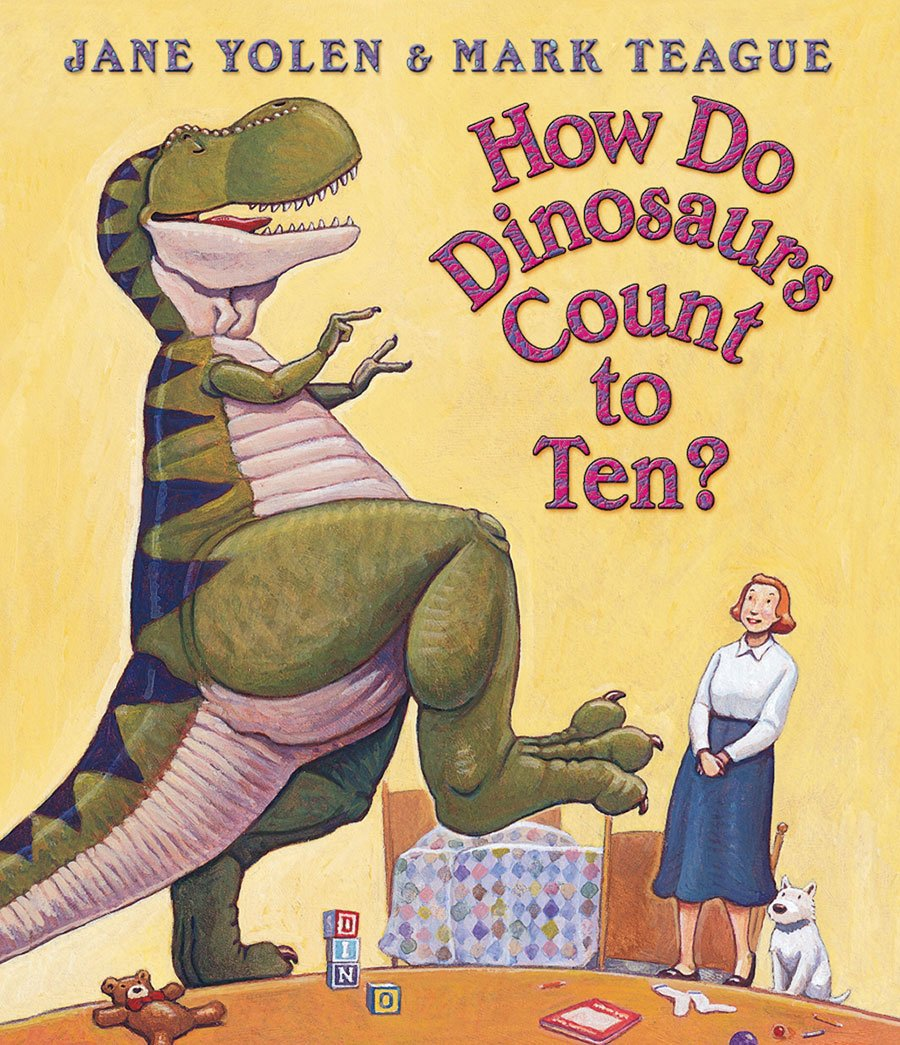 Educational Books Toys 2017 Christmas Toys How Do Dinosaurs Count To Ten