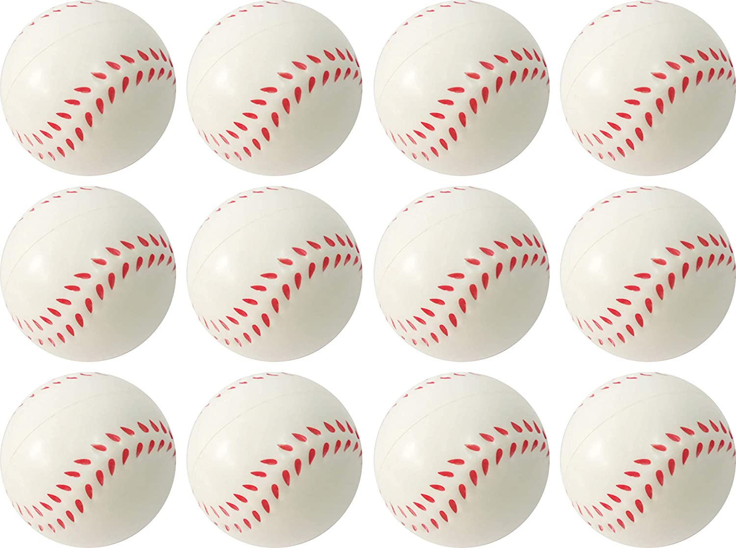 Football Baseball 12 Pack Present Avenue Mini Toy Balls for Kids Party Favor Toy Relaxation. Basketball Squeeze Foam for Stress Baseball Emoji Squeeze Ball Anxiety Relief Soccer Ball