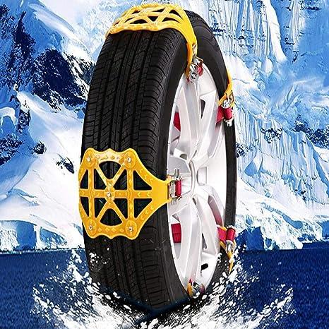 Hete-supply - Cadena para neumáticos de Nieve, Reutilizable, Universal, 1 Unidad
