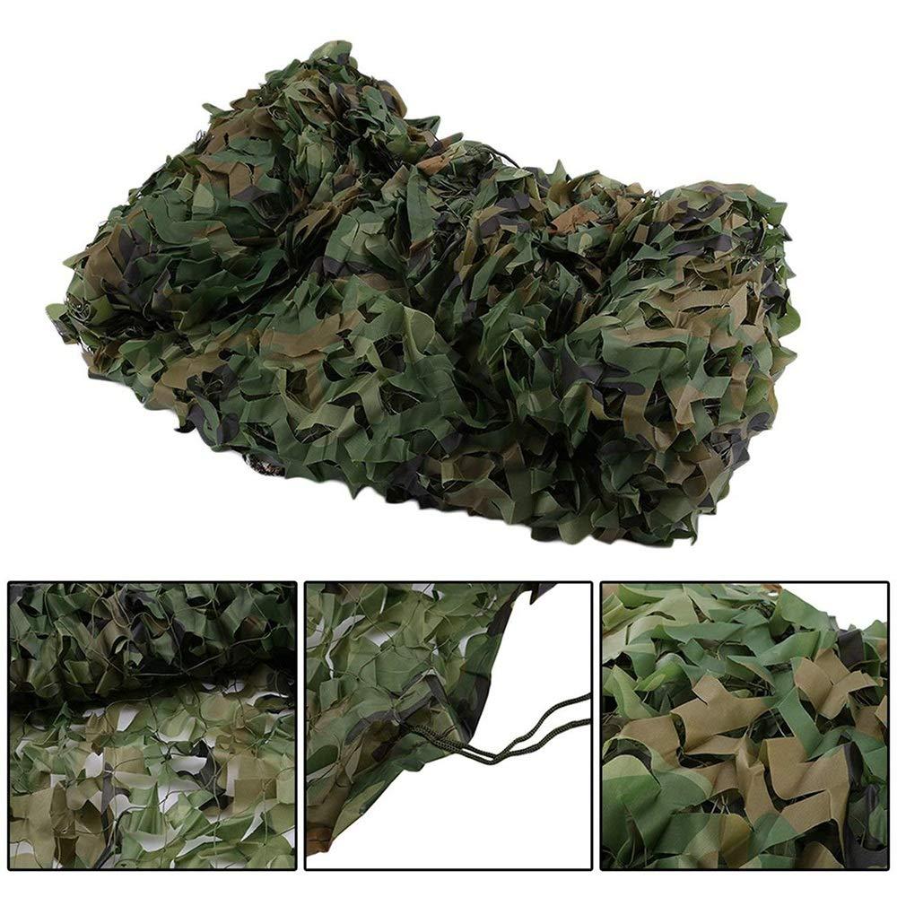 8x10m DGLIYJ Filet De Camouflage, Jungle Filet De Camping De Champ De Tir Décoré De Prougeection Solaire Parasol (Taille   4x5m)