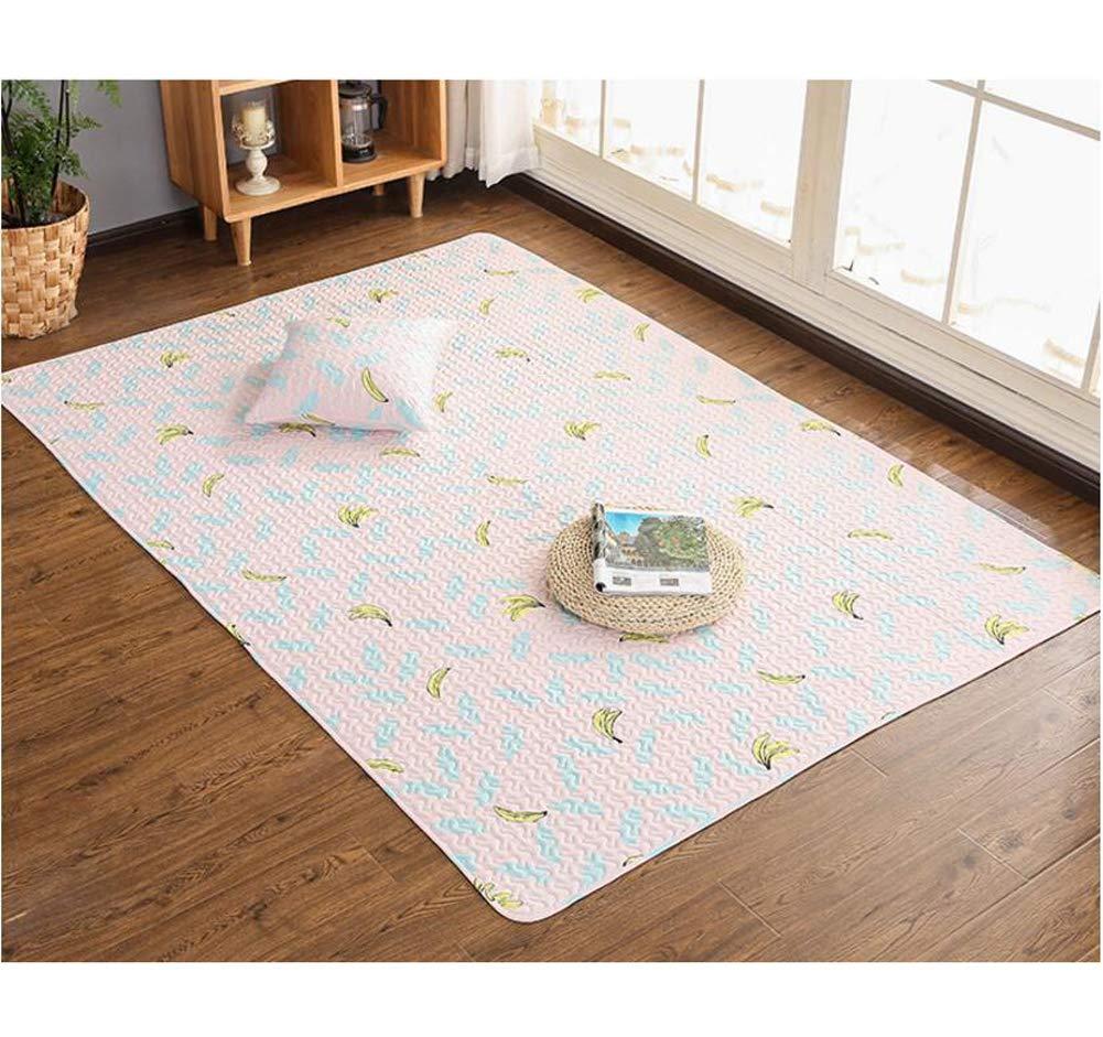 Alfombra infantil Alfombras salon Alfombra rectangular antideslizante alfombras son adecuadas para cualquier suelo duro asegurar que su alfombra es segura y en su lugar-rosadoA 70x180cm(28x71inch)
