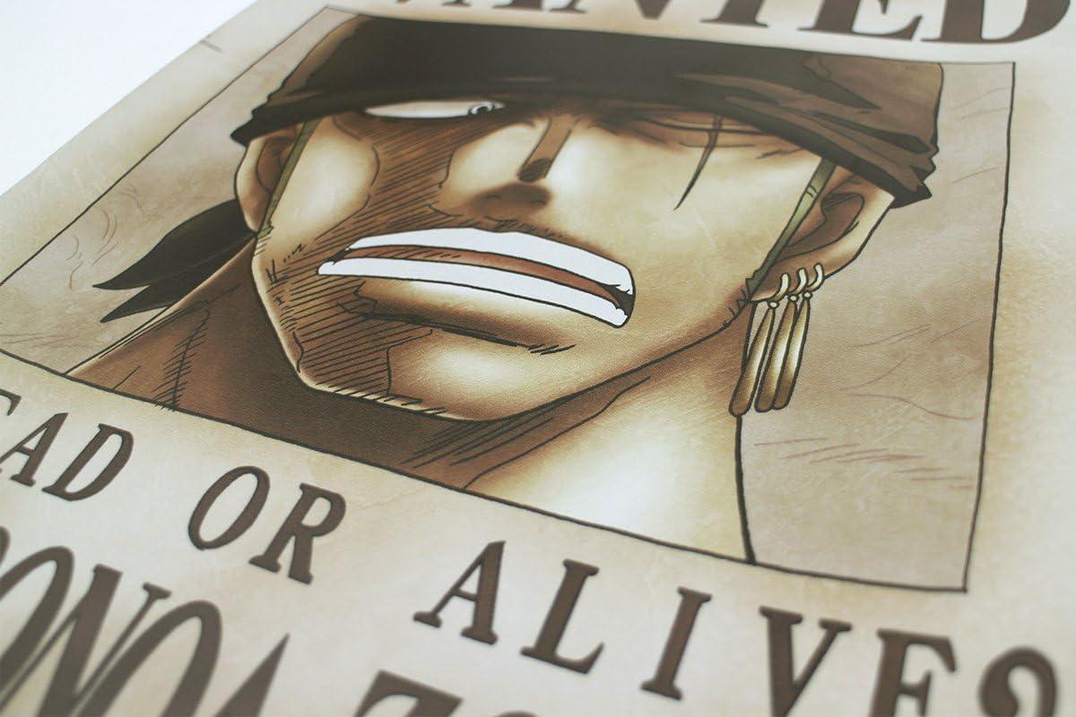 Amazon Co Jp One Piece ワンピース 壁紙 42cm 29 7cm A3サイズ 手配書ゾロ 新世界 おもちゃ