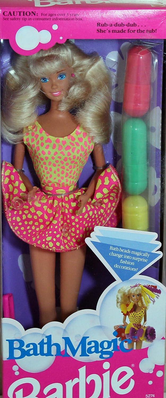 Amazon.com: Barbie Bath Magic Doll 1991 Mattel: Toys \u0026 Games