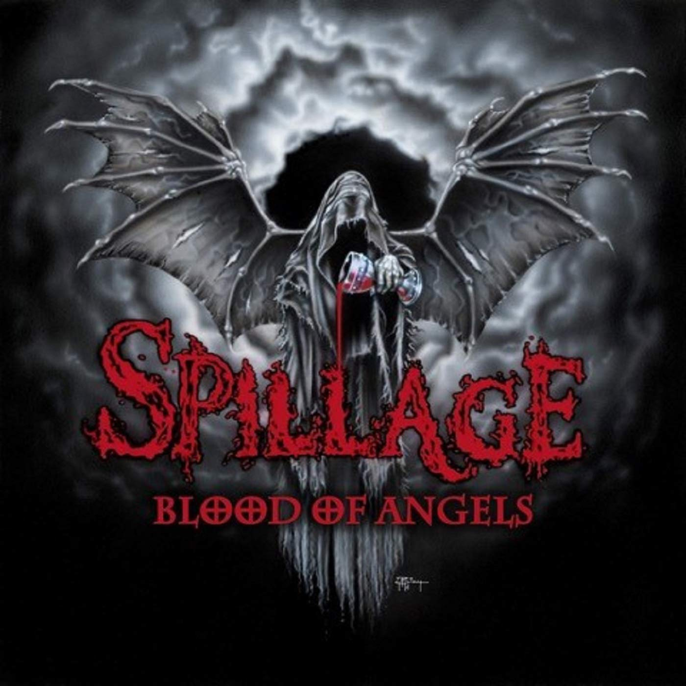 Vinilo : Spillage - Blood Of Angels (LP Vinyl)