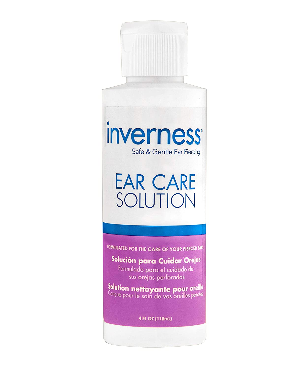 New INVERNESS Ear Care Solution 4 oz | After Piercing |