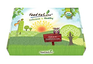 Organic Sprouting Beans, Peas, and Lentils in a Gift Box - Mung Beans, Adzuki Beans, Red Lentils, Chickpeas and Green Peas, Non-GMO, Kosher