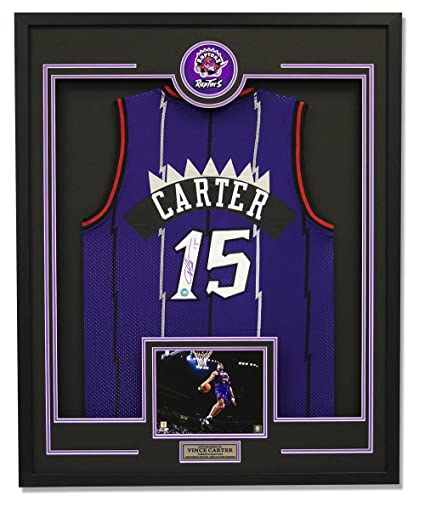 Image Unavailable. Image not available for. Color  Vince Carter Autographed  Jersey ... 4a1d34cde