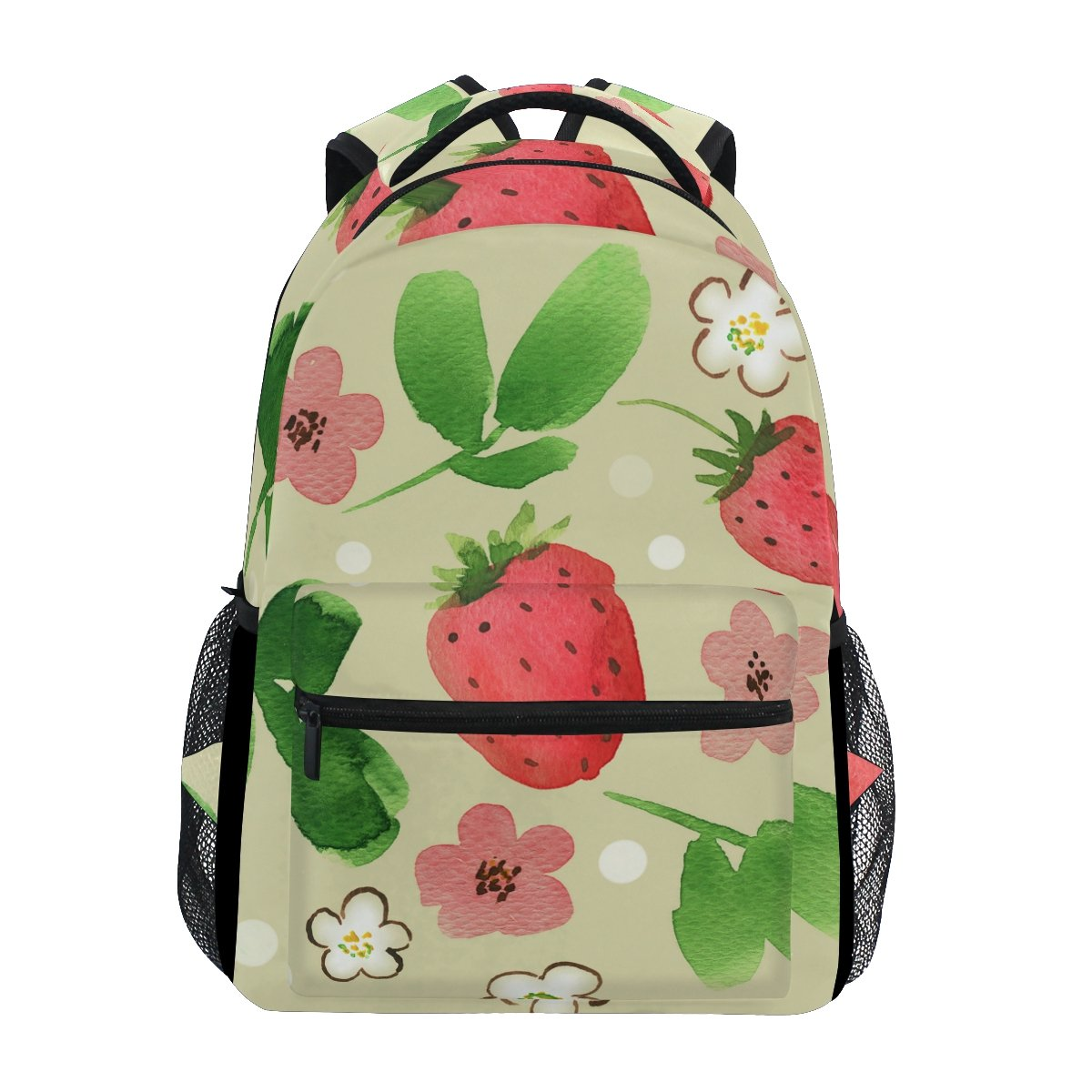 Amazon.com: TropicalLife Strawberry Pattern Backpacks School Bookbag Shoulder Backpack Hiking Travel Daypack Casual Bags: Computers & Accessories