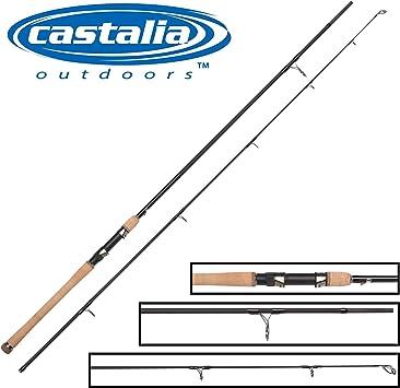 Castalia Spin Pro 240 cm 10 – 40 G – Caña de Spinning para Pesca a ...